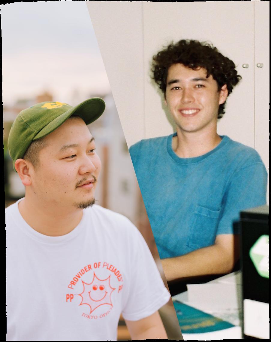 Ian Shimizu & Jun Hirayama